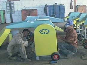 Fabrican máquinas trituradoras de forraje en Sancti Spíritus.