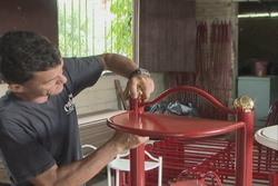 Se afianza producción de muebles en Fomento