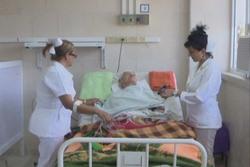 Sigue mejorando su salud principal hospital espirituano